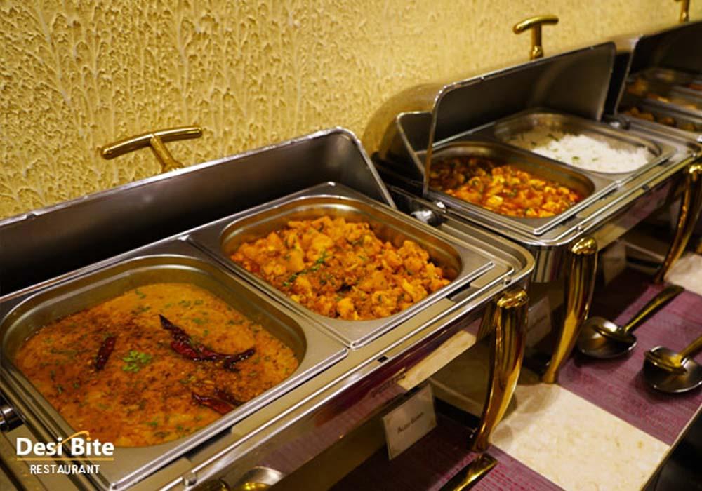 Buffet Lunch at Desi Bite