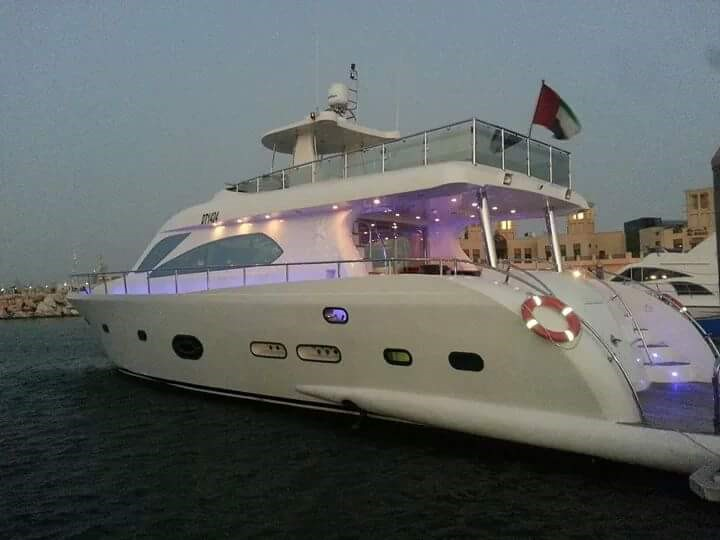 85 Ft Luxury Yacht